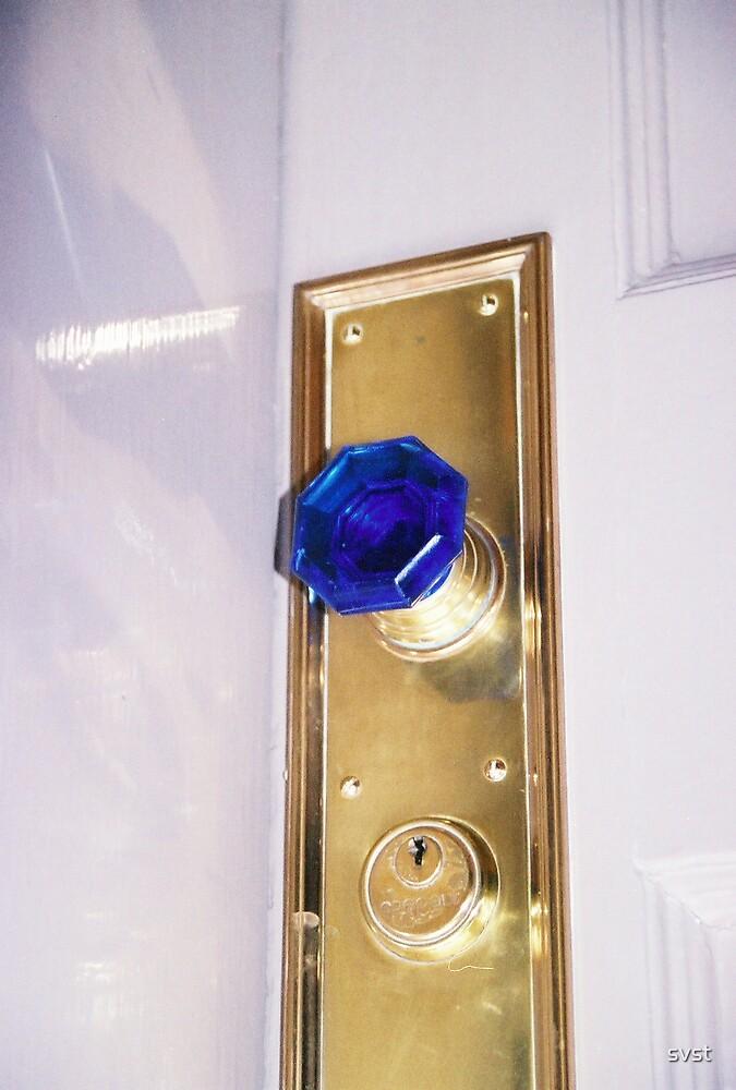 blue knob by svst