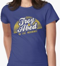 Troy and Abed in the Morning! Women's Fitted T-Shirt