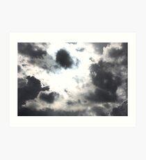 Rain Clouds in the Sky Art Print