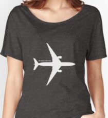 A350 - White Design Women's Relaxed Fit T-Shirt