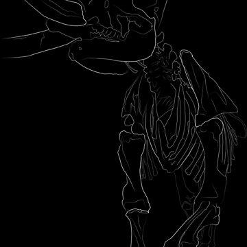 Mastodon line (for dark printing) by photonart