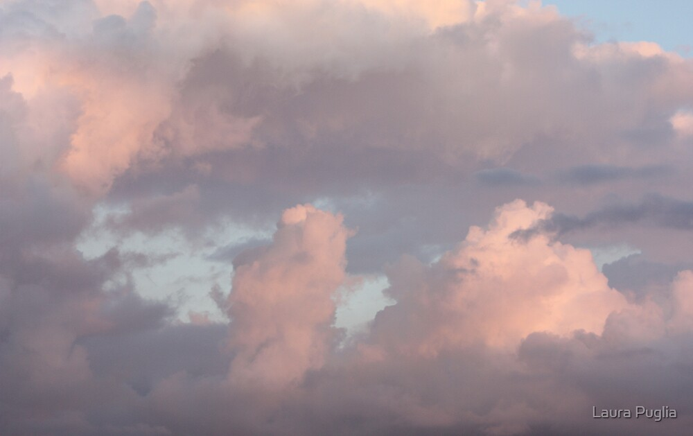 Pink Clouds by Laura Puglia