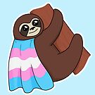Transgender LGBTQ* Pride Sloth by riotcakes