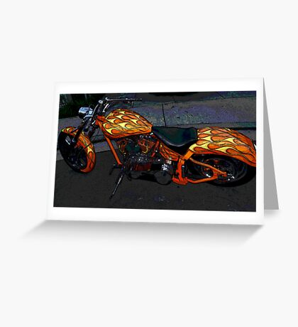 Glory Ride! Radiance, Dignity, Honor! Greeting Card