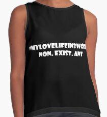 #MyLoveLifein3Words Contrast Tank