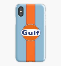 Gulf stripe iPhone Case