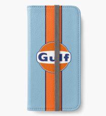 Gulf stripe iPhone Wallet/Case/Skin