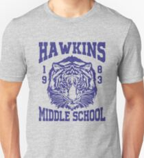Stranger Things - Hawkins Middle School (mugs, shirts, and more merch) T-Shirt