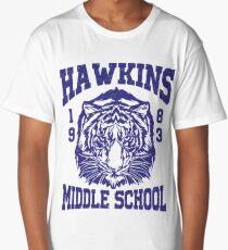Hawkins Middle School (mugs, shirts, and more merch) Long T-Shirt