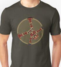 Robot Loves Cartwheels Unisex T-Shirt