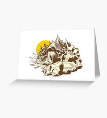 Offroad 4x4 Challenge Greeting Card