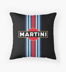 Martini Racing Team Throw Pillow