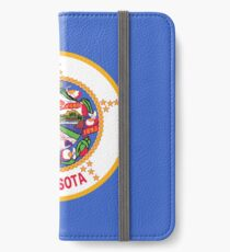 Minnesota Flag iPhone Wallet/Case/Skin