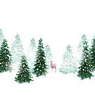 Christmas Background by Olga Altunina