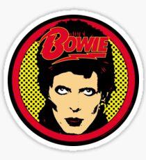 David Bowie Sticker