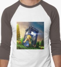 13th Doctor Minifig Men's Baseball ¾ T-Shirt