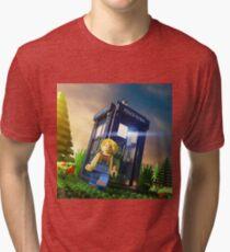13th Doctor Minifig Tri-blend T-Shirt