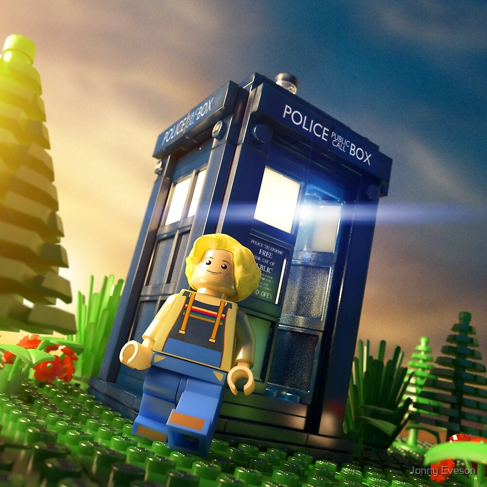 13th Doctor Minifig by Jonny Eveson