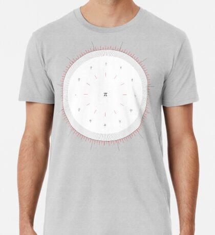 Radians Vs Degrees Clock - v001 Premium T-Shirt