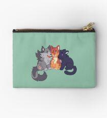 Bolso de mano Gatos guerreros: Greypaw, Firepaw, y Ravenpaw