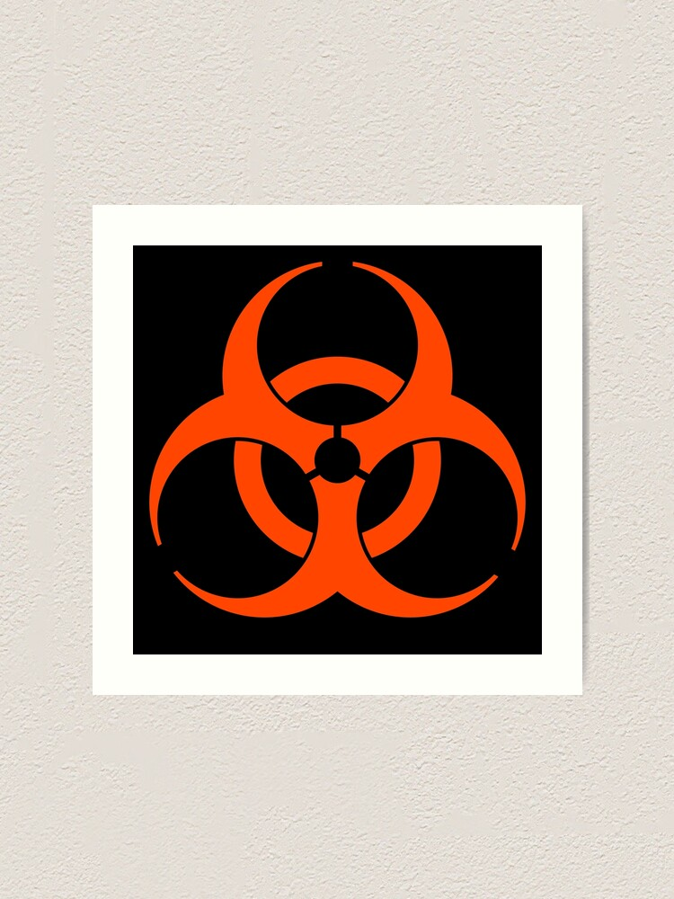 Alternate view of Biohazard 009 Art Print