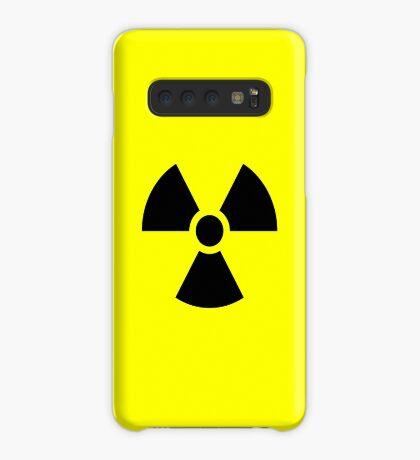 Warning Radiation T Case/Skin for Samsung Galaxy