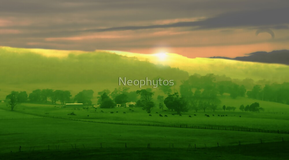 High Plains Sunrise by Neophytos