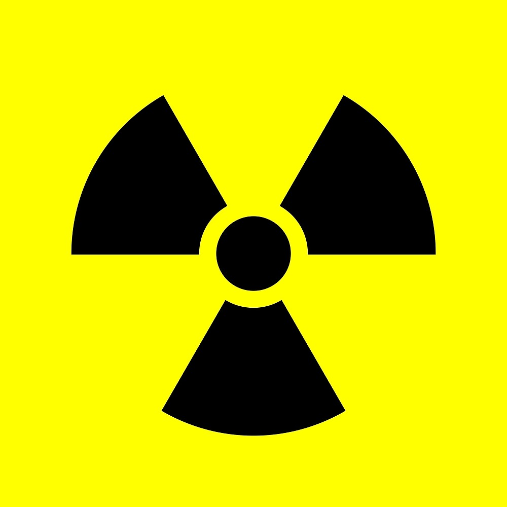 Warning Radiation T by Rupert Russell