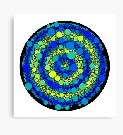 Circle Packing 006 Canvas Print