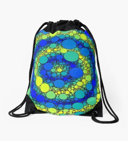 Circle Packing 006 Drawstring Bag