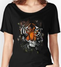 Tiger Stare Women's Relaxed Fit T-Shirt