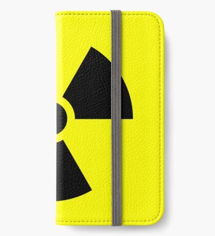 Warning Ionizing Radiation iPhone Wallet
