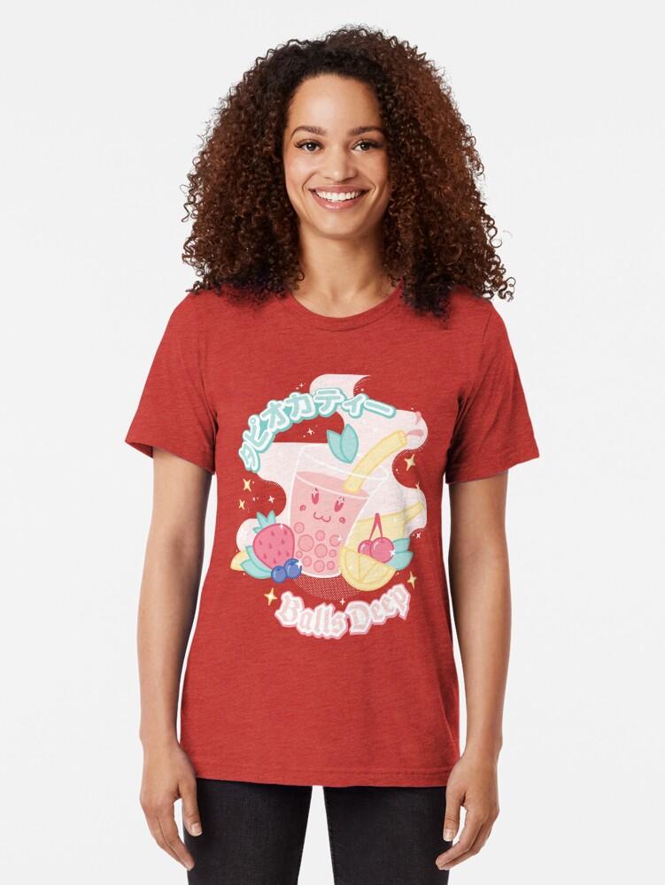 Alternate view of Tapioca Tea Tri-blend T-Shirt