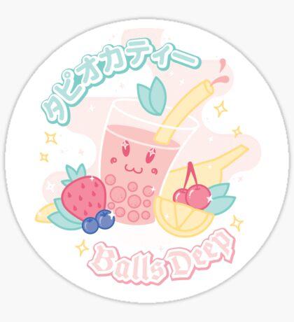 Tapioca Tea Sticker