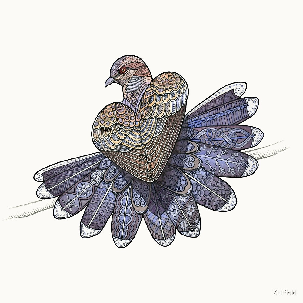 Turtle Dove by ZHField