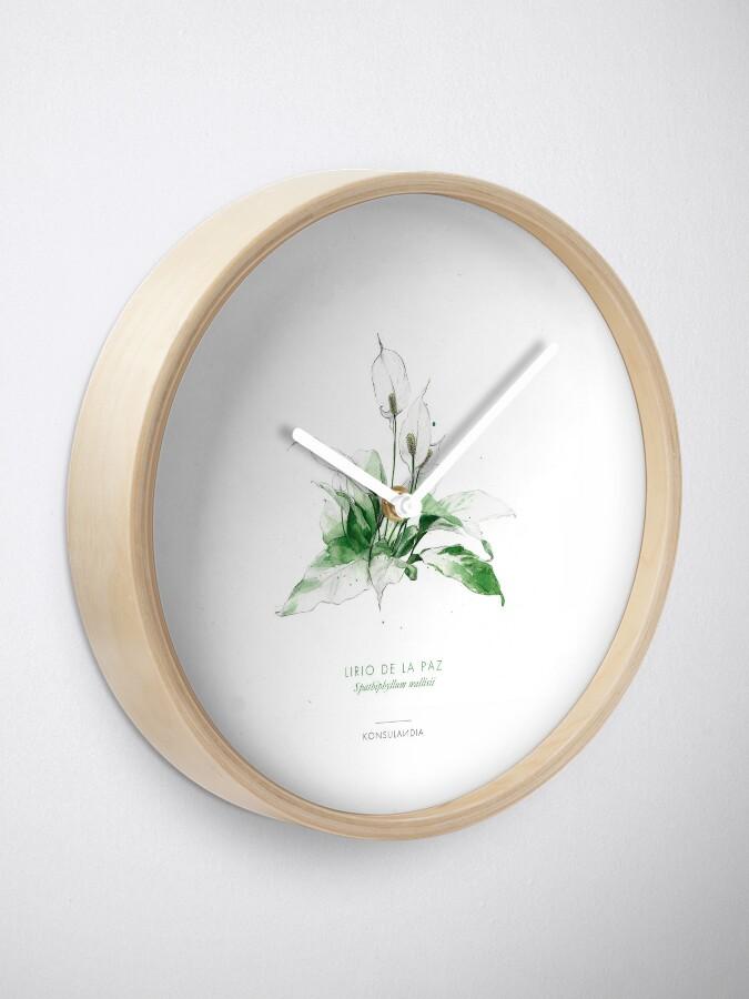 Vista alternativa de Reloj Lirio de la paz