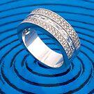 Blue ring  by Jordan Duff