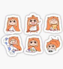 Himouto! Umaru-chan set Sticker