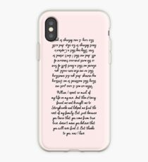 26. Emma and Killian's Wedding Vows (check the other for Samsung models) iPhone Case