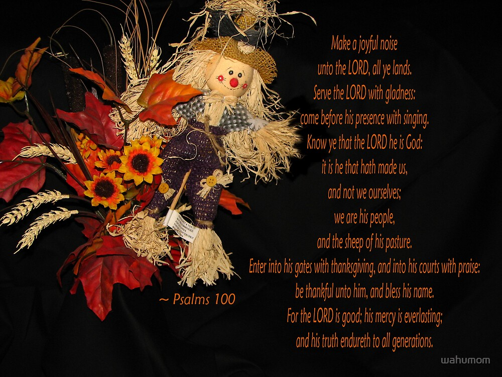 Thankfulness... by wahumom