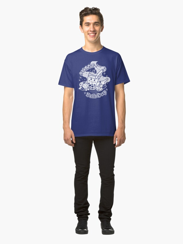 Alternate view of All about the balls - Tapioca balls (one color) Classic T-Shirt