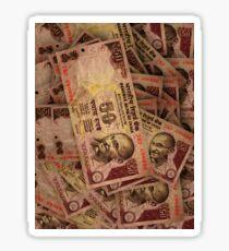 50 RUPEE NOTES Sticker