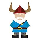 Viking Gnome by Melissa-Leckie