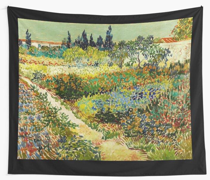 Van Gogh   Garden At Arles By NewNomads