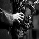 Old Sax by Caroline Gorka