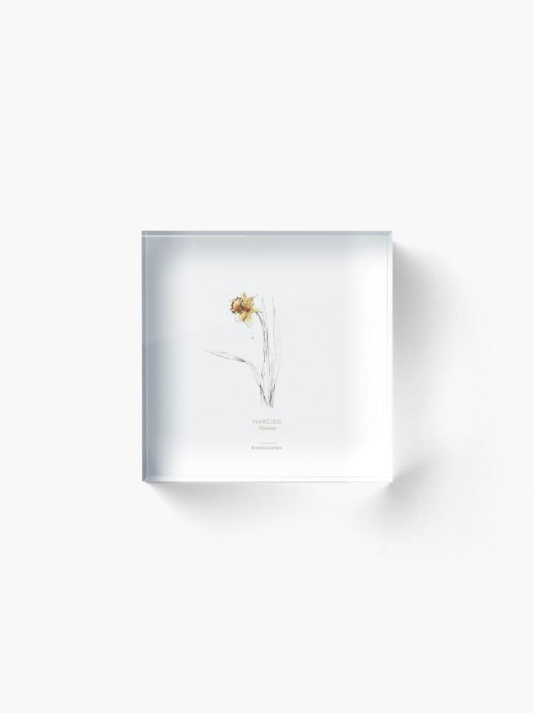 Vista alternativa de Bloque acrílico Narciso