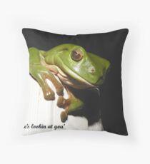 'Froggie' Throw Pillow
