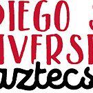 San Diego State University by Pop 25