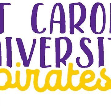East Carolina University by pop25