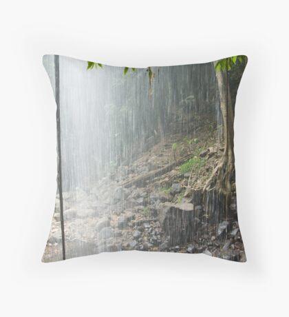 Crystal Shower Falls, Dorrigo National Park, NSW, Australia Throw Pillow
